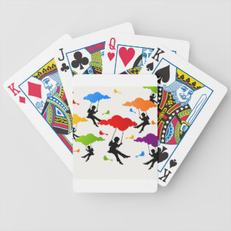 Swing Bicycle Playing Cards