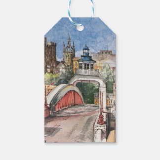 Swing Bridge Gift Tag