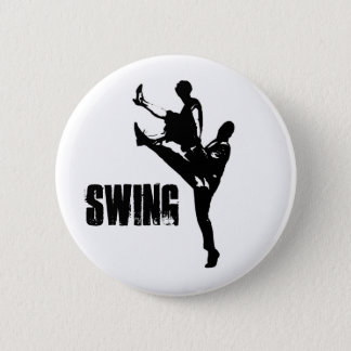 Swing Dance 6 Cm Round Badge