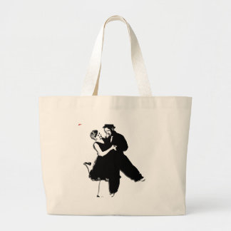 Swing Dance NT Large Tote Bag