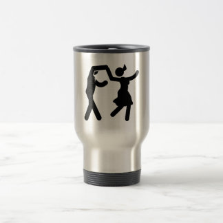 Swing Dancing Travel Mug