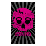 Swing hard Snatch Fast Pink Kettlebell  Poster