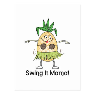 Swing It Mama! Postcard