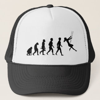 Swing swings playground plays jack play trucker hat