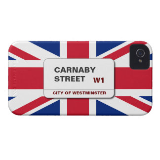 Swinging 60s Carnaby Street Blackberry Bold Case-Mate iPhone 4 Case