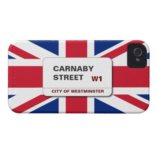 Swinging 60s Carnaby Street Blackberry Bold Blackberry Bold Case