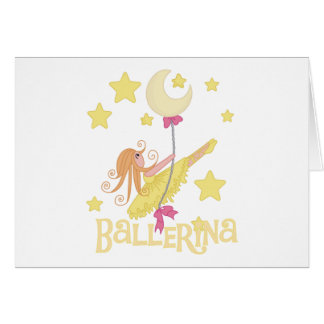 Swinging Ballerina Tshirts and Gifts Cards