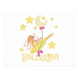 Swinging Ballerina Tshirts and Gifts Post Cards