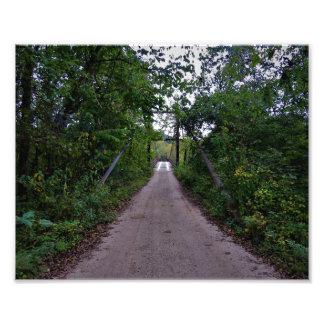 Swinging Bridge 2 Photo Print