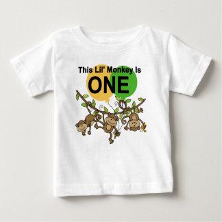 Swinging Monkeys 1st Birthday t shirts and Gifts