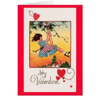 Swinging Valentine Card