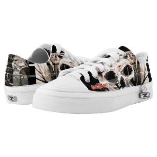 SwingMare-Custom Zipz Low Top Shoes, US Men 4 / US