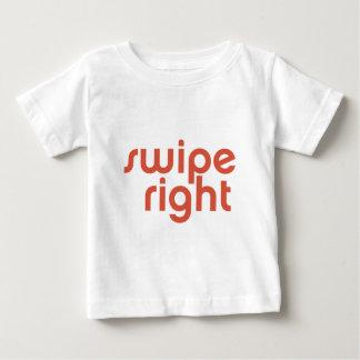 Swipe Right Baby T-Shirt