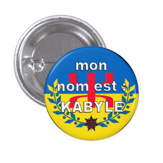 swipes in KABYLIAN NAME 3 Cm Round Badge