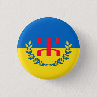 Swipes in Kabylian of Heidzer 3 Cm Round Badge