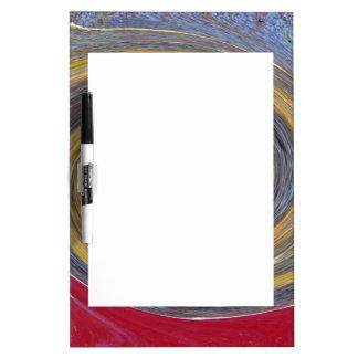 Swirl 01.05-Colors of Rust/Rost-Art Dry Erase Board