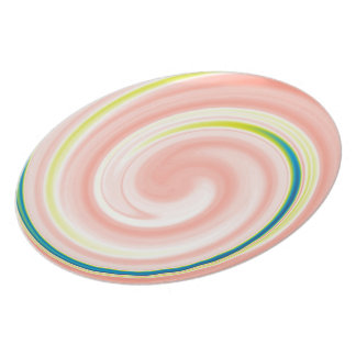 Swirl Abstract Plate