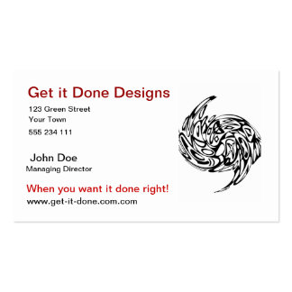 swirl business card template