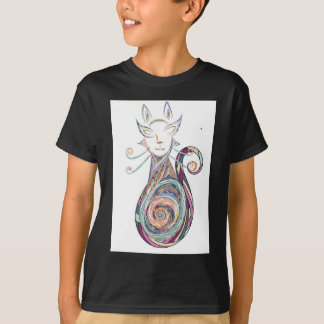 swirl cat copy T-Shirt
