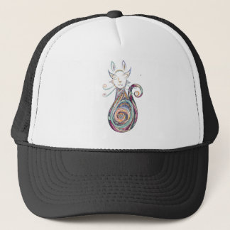 swirl cat copy trucker hat