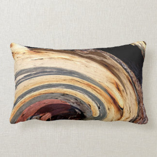 Swirl - Colors of Rust/Rostart 2.2 Lumbar Cushion