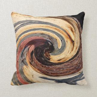 Swirl - Colors of Rust/Rostart Cushion