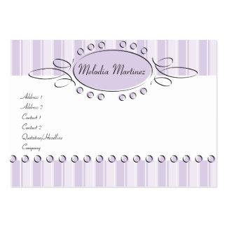 Swirl Decor Pack Of Chubby Business Cards