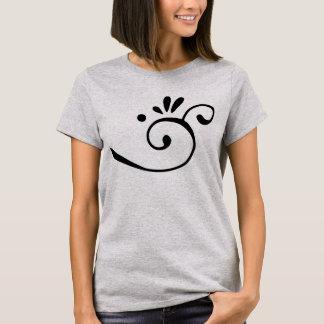 Swirl Design Women's T Shirt