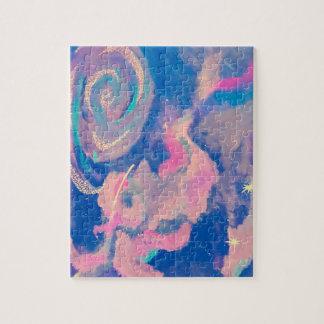 Swirl into infinity jigsaw puzzle