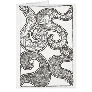 Swirl of Design Card