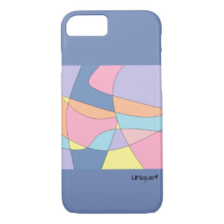 Swirl pastel colors case, beautiful and chic iPhone 8/7 case