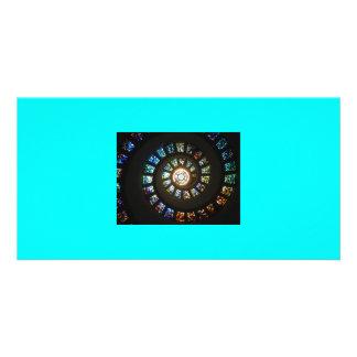 Swirl Customized Photo Card