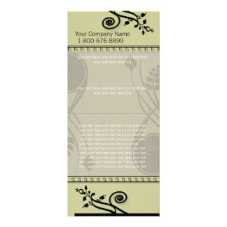 Swirl Rack Card