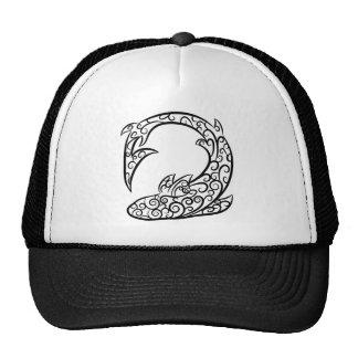 Swirl Tattoo Shark Cap