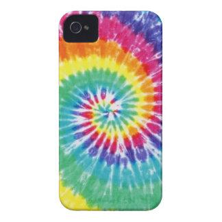 Swirl Tie Dye Multicolor Rainbow iPhone 4 Case-Mate Case