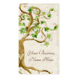 Swirl Tree Roots Antique Tan Professional Business