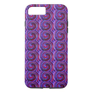 Swirl twirl vortex motion design iPhone 7 Tough iPhone 7 Plus Case