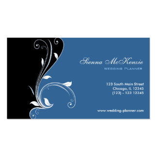 Swirl Wedding Planner Pack Of Standard Business Cards
