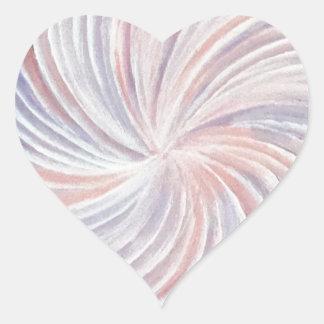 SwirlArt Heart Sticker