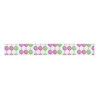 Swirled Lollipops Ribbon Grosgrain Ribbon