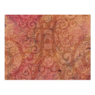 Swirled Parchment Postcard