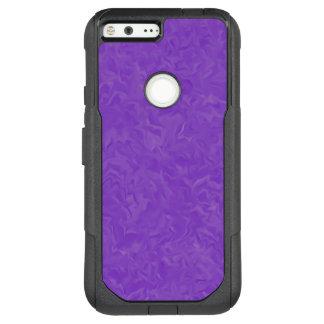 Swirled Shades of Purple Abstract Art OtterBox Commuter Google Pixel XL Case