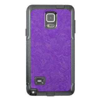Swirled Shades of Purple OtterBox Samsung Note 4 Case