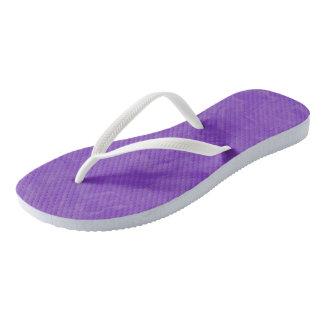 Swirled Shades of Purple Thongs