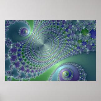 Swirler - Fractal Poster