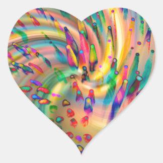Swirligigs Heart Sticker