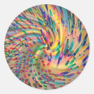 Swirligigs Round Sticker