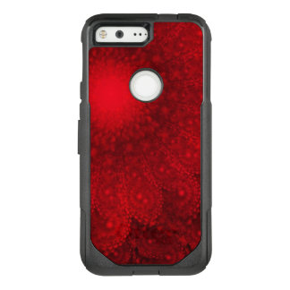 Swirling Abstract Red Daisy OtterBox Commuter Google Pixel Case