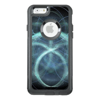Swirling Blue Electrical Charge OtterBox iPhone 6/6s Case