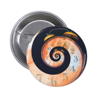 Swirling Clock Face Button